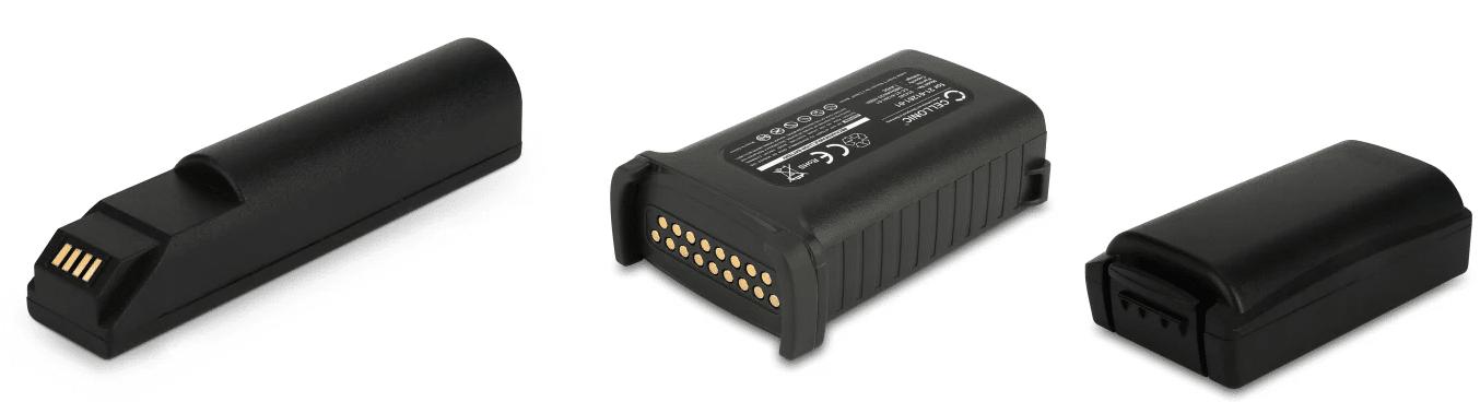Ersatzakkus für MDE Geräte und Barcodescanner