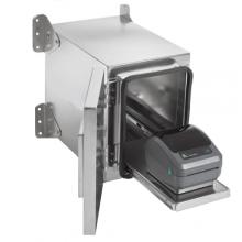 Edelstahlgehäuse für Desktop Etikettendrucker